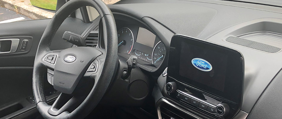 Ford vehicle interior in Tampa, FL.