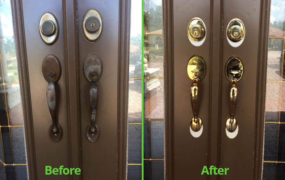 New home lock/deadbolt replacement by Cheap Lock & Key in Tampa, %%state.