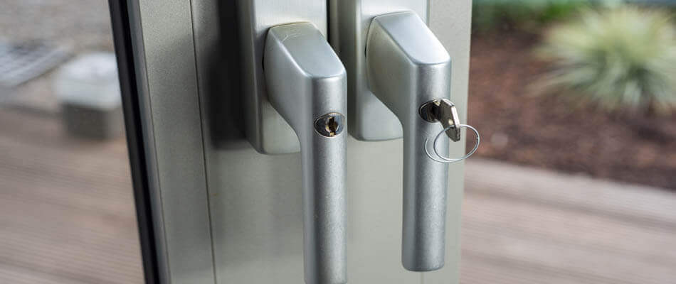 Cheap Lock & Key rekeying a commercial lock in Wesley Chapel, FL.