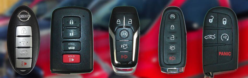 Various smart keys to be programmed for Tampa Bay customers.