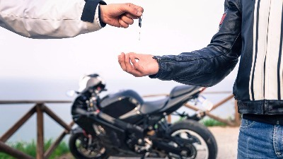 Motorcycle key replacement.