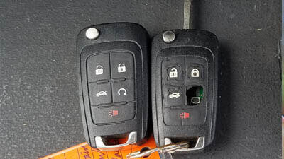 Broken key less entry remote replacement.